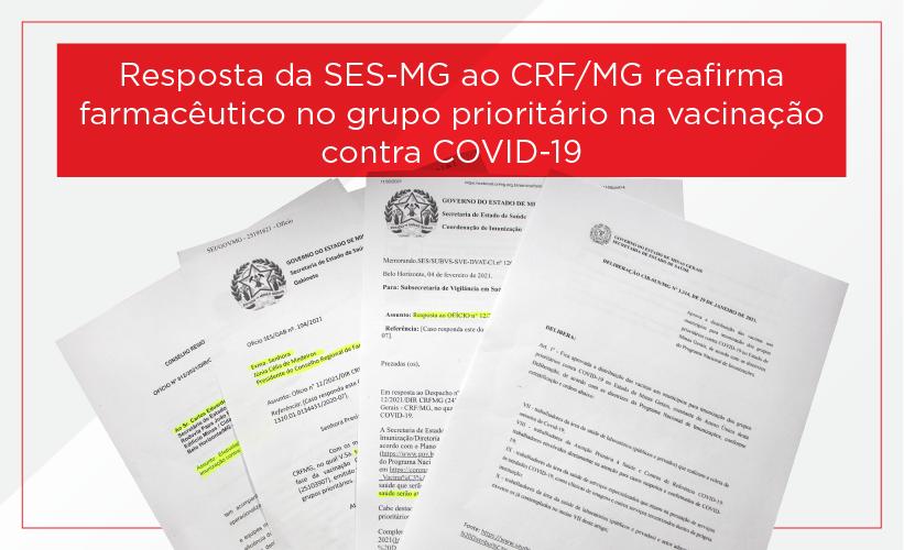 SES-MG reafirma farmacêuticos no grupo prioritário e diz que vai seguir PNI